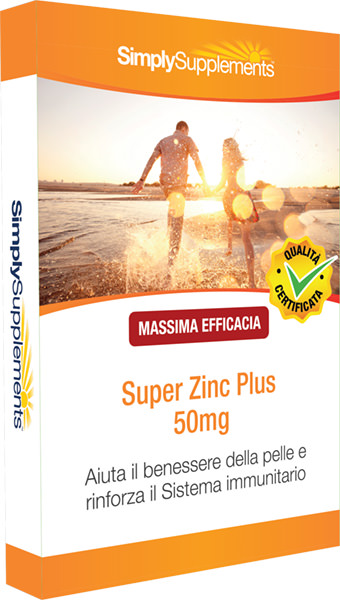 60 Tablet Blister Pack - super zinc