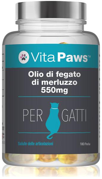 vitapaws/integratori-per-gatti/olio-fegato-merluzzo-550mg-gatti